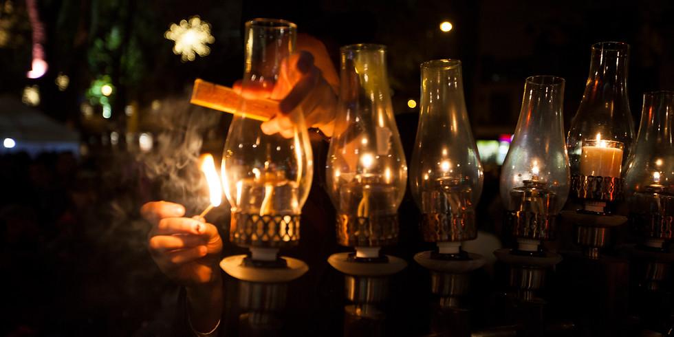 Islington Menorah Lighting