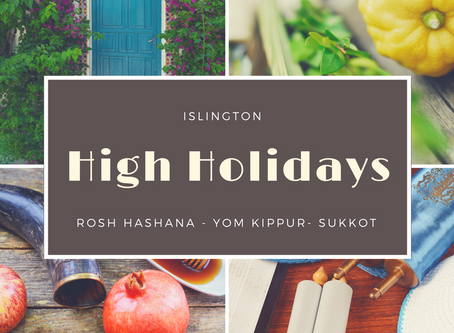 High Holidays in Islington