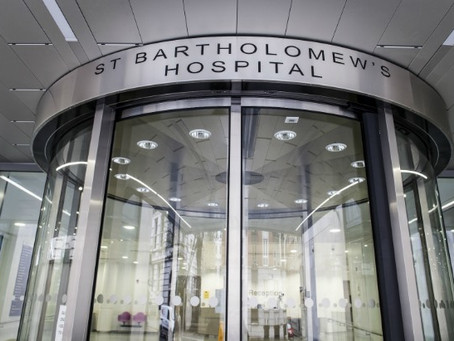 The story of the Shofar at Barts Hospital