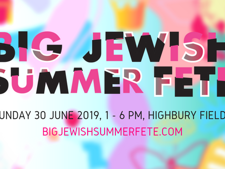 Date announced for the Big Jewish Summer Fete 2019