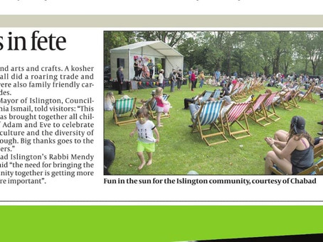 The Big Jewish Summer Fete in the media