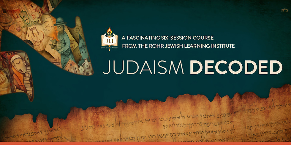 Judaism Decoded: A Formula for Eternity