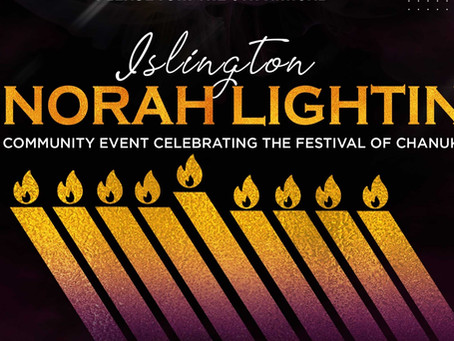Chanukah 2020 in Islington