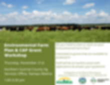 Environmental Farm Plan & CAP Grant Work
