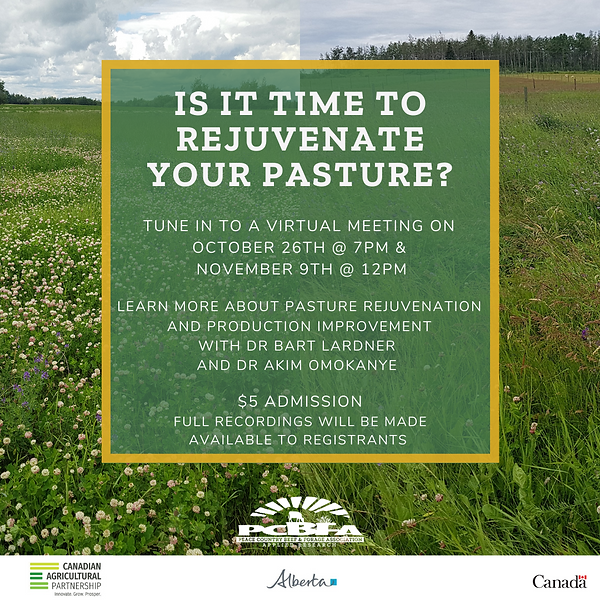 Is it time to rejuvenate your pasture 1.