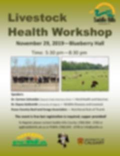 2019-10-23 Livestock Health Workshop Pos