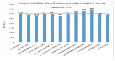 Pulse - Cereal Mixtures for Forage Yield and Quality