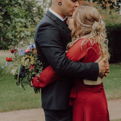 Brautpaarshooting in der Orangerie Darmstadt