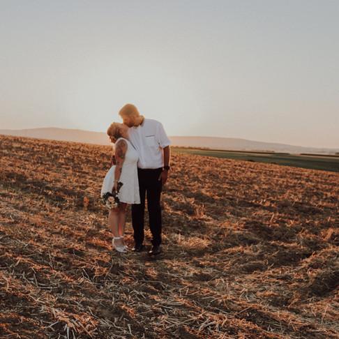 Standesamtliche Trauung von Erika und Carsten