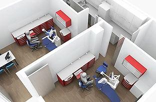 Conception et aménagement du cabinet