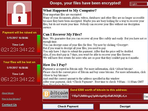 WannaCry une attaque sans précédent
