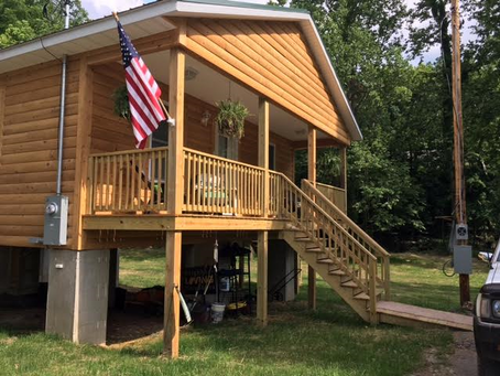 World Renew Assists WV VOAD in Building West Virginian a New Home