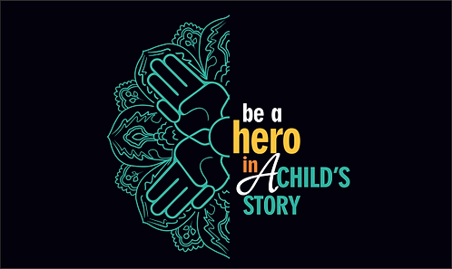 Camiseta Be a hero