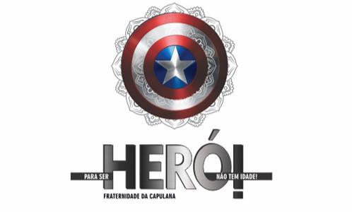 Camiseta infantil - Herói não tem idade