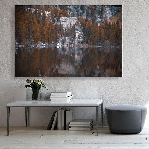 Bear Lake Reflection in Autumn