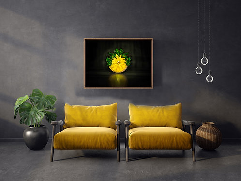 Mint Lemon Fine Art -Food Photography Wall Art for Home Decor-Kitchen Decor
