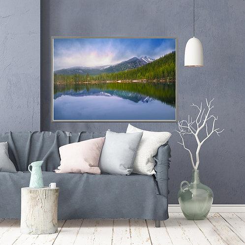 Rocky Mountain National Park Canvas, Scenic Dream Lake Wall Art