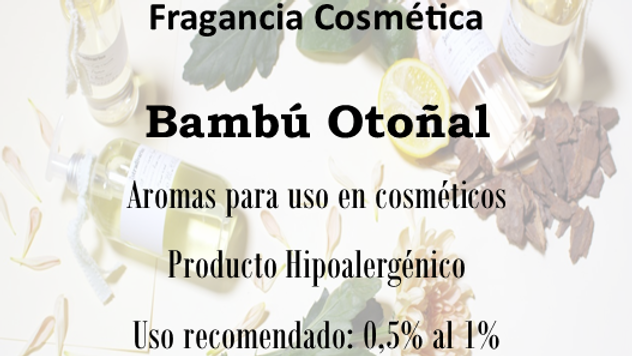 Fragancia Bambú Otoñal