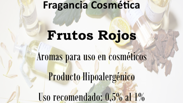 Fragancia Frutos Rojos