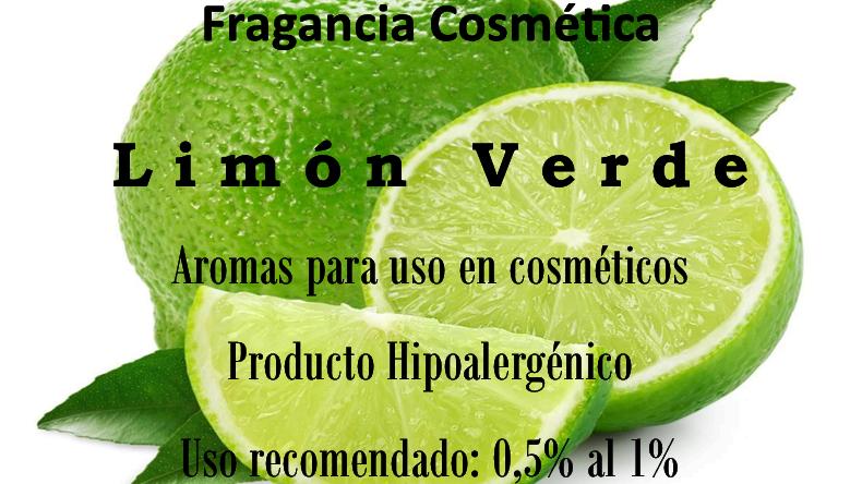 Fragancia Limón Verde