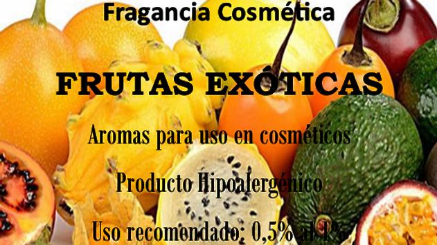 Fragancia Frutas Exóticas