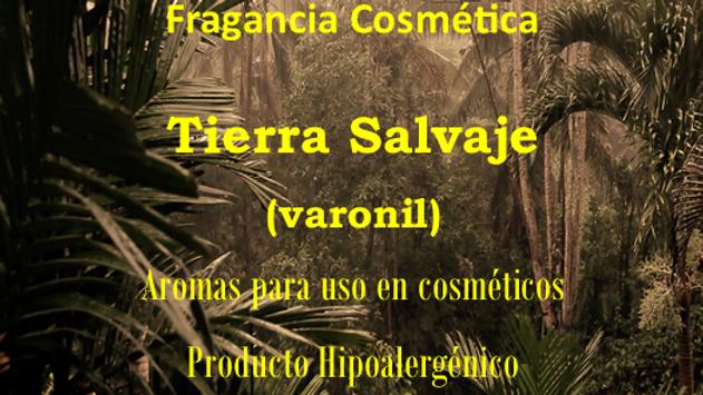Fragancia Tierra Salvaje (Varonil)