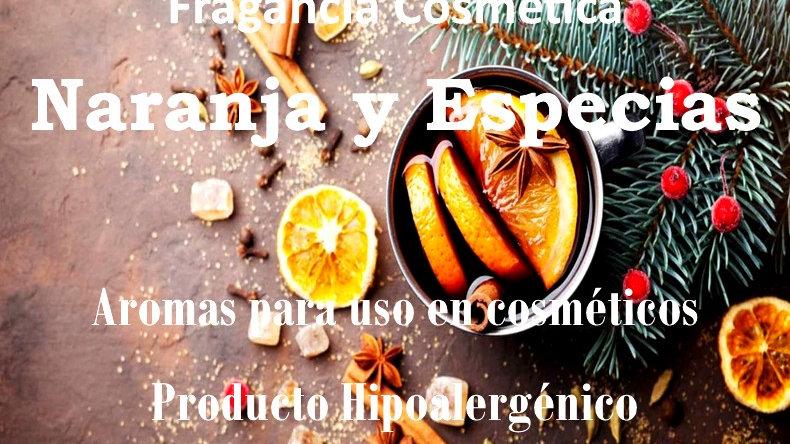Fragancia Naranja y Especias