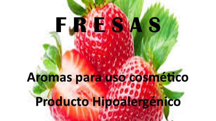 Fragancia Fresas