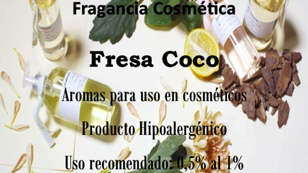 Fragancia Fresa Coco