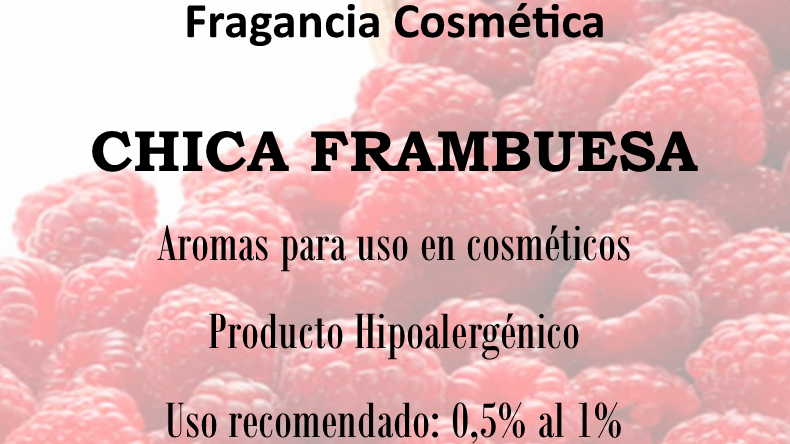 Fragancia Chica Frambuesa