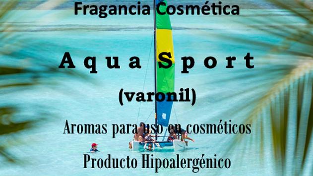 Fragancia Aqua Sport (Varonil)