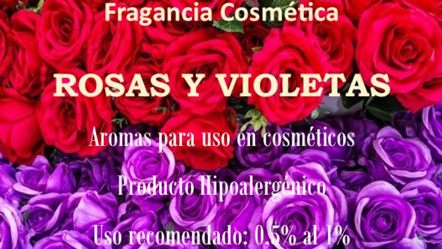 Fragancia Rosas y Violetas