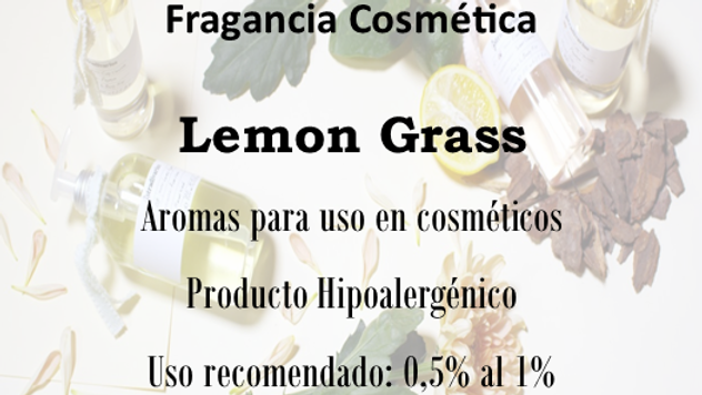 Fragancia Lemon Grass