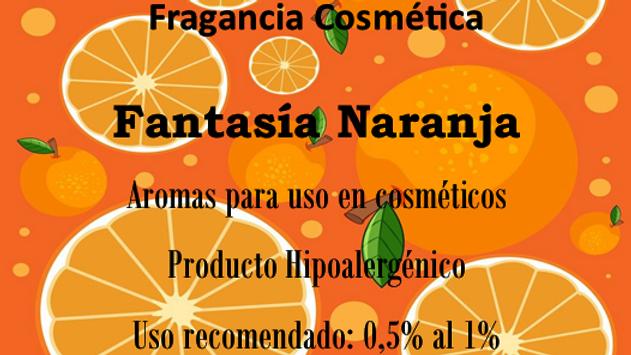 Fragancia Fantasía Naranja