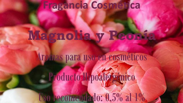 Fragancia Magnolia y Peonía