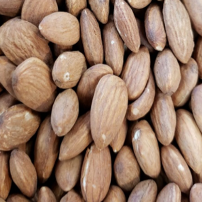 Roasted Unsalted Almonds (Per Pound)