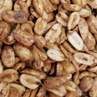 BBQ Peanuts (Per Pound)