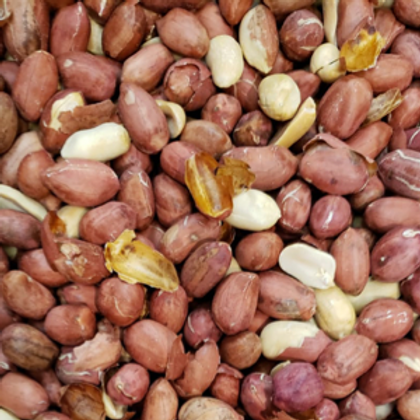 Unsalted Roasted Peanuts (Per Pound)