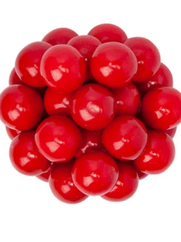 Red Gumballs 1 Inch