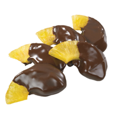 Chocolate Covered Dried Pineapple (Per Pound)