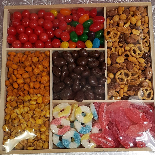 CANDY, NUT, CHOCOLATE TRAY
