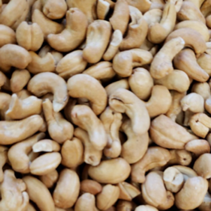 Roasted Unsalted Cashews (Per Pound)
