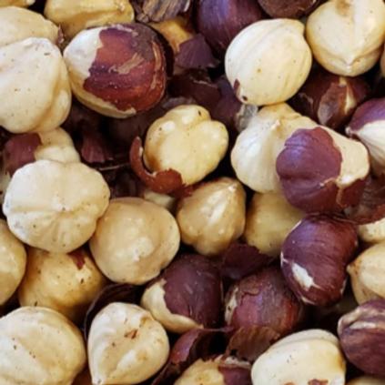 Roasted Unsalted Hazelnuts/Filberts (Per Pound)