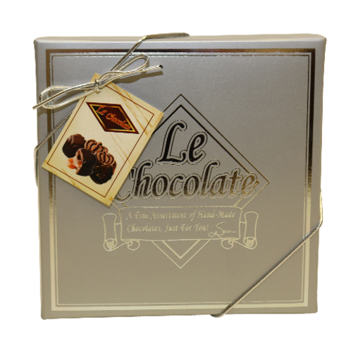 Le Chocolate 9 truffle box