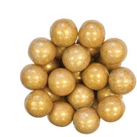 Gold Gumballs 1 Inch