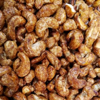 Honey Glazed Cashews (Per Pound)