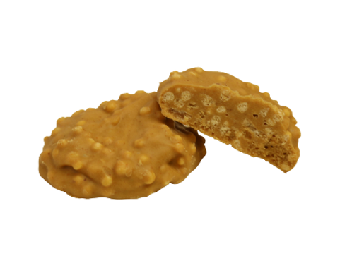 Peanut Brittle with Crispies (Per Pound)