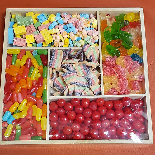 CANDY WOOD TRAY