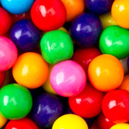 Multi Colored Gumballs 1 Inch