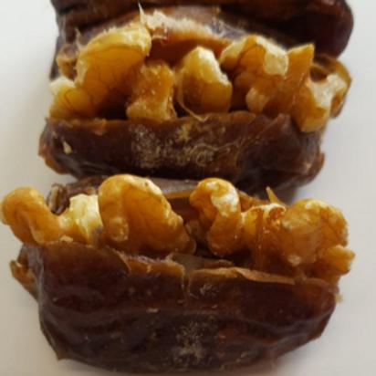 Medjool Dates with Raw Walnuts (Per Pound)